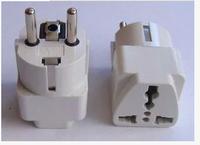 European Standard Converter Plugs Sockets (2 hole angle of turn 3) Power Socket EU Standard  European Power Cord (With 2 pins)