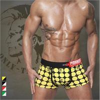 4pcs mens underwear boxer shorts sexy cotton wholesale panties XXL plus-size sleepwear pants pentis shorter pinkhero brand cheap