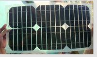 NEW 18V 20W semi-flexible monocrystalline silicon solar cell photovoltaic panels