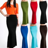 2015 Summer European Fashion Women Length Fishtail Skirt Lady Womens Skirts DQ131