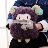Plush Toys Cartoon Sheep Multifunction Cushion/pillow Warm Hand Tools Winter Home Decoration Color Random