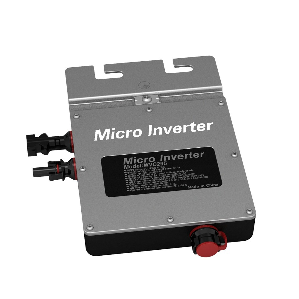 WVC295 120VAC Waterproof IP67 micro Solar Inverter with Power Line Communications function(China (Mainland))