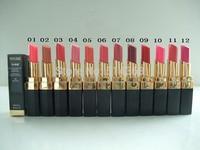 2015 New makeup lipstick ROUGE CC SHINE, LE ROUGE BRILLANT FONDANT HYDRATANT lipstick 3g(1pcs/lot)