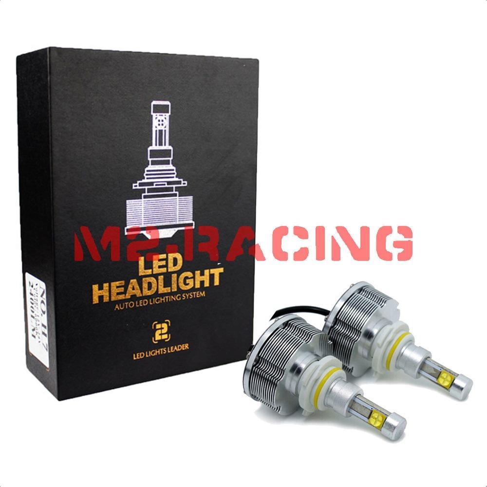 Generation 2 H1 H3 H7 H8 H9 H10 H11 9005 9006 HB3 HB4 9145 CREE LED Headlight/Headlamps/Bulbs 40W 4800LM 60W 6000LM Fog DRL Kit(China (Mainland))