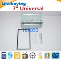 For 178mmx100mm Size 2 Din Universal Car Audio Navigation  Panel / Car Dash Frame Kit / Universal Fascia Panel / Metal Cage
