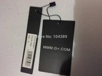 men's suit bag paper tag