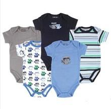 Clearance Items Loss sale 100 Cotton Newborn body baby bodysuits Short Sleeve infant Jumpsuit Boy Girl