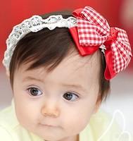 free shipping Retail & wholesale Newborn Baby Girls Satin Ribbon Flower Headbands  For Photography Props Infant Baby Headband
