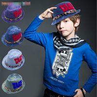 Bonnet Children's Baseball Cap Hats 2015 New Spring Summer Sun Hat Denim Caps Boys Embroidered Hat