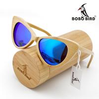 100% handmade natural bamboo sunglasses polarized eyeglasses wayfarer wooden sunglasses Mixing colors accept Free Shipping
