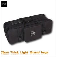 Free Shipping!!! HPUSN Thickening Photo Video Studio Kit Set Studio Light Stands Large Carrying Bag 75cmX25cmX29cm