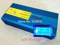 LCD DISPLAY 1500 1500W Pure Sine Wave Power Inverter Converter 24V DC to 220V 230V 240V AC 3000 3000W Watt Peak