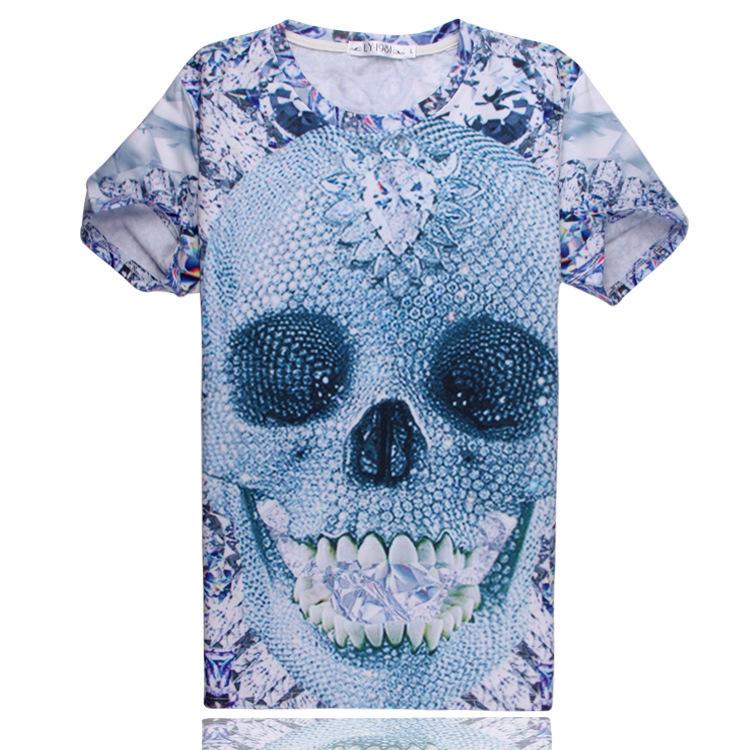 vintage rock tees tops fashion skull print t