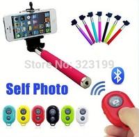Kit Bastao Selfie Monopod + Controle Bluetooth Para Celular