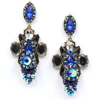 New Hot sale 2015 stud earrings big fashion earring  vintage statement Earrings for women jewelry wholesale