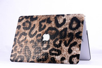 Fashionably Leopard Laptop Protective  Hard Case Cover For Macbook Air 11 13, Pro 13 15,Leopard Hard Protective Shell Case