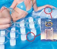 2pcs/lot Intex or Bestway Vinyl Pool Repair Kit for inflatable vinyl swimming pools inflatable air mattress and floating toys