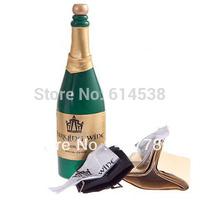 Interesting and Novel Magic Trick Magic Vanishing Champagne Bottle (Green) TT0007801