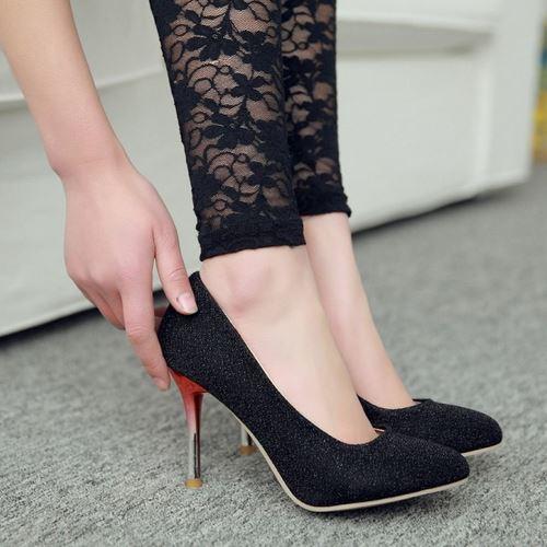 Size Big 32-42 New Design High Heels Party Prom Less Platform Pumps Casual Shoes Women Pumps Bridal Wedding Shoes(China (Mainland))