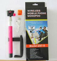 100pcs Handheld Wireless Bluetooth Selfie Stick Tripod Monopod Extendable For iPhone Samsung HTC Phone