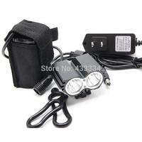 Bici Waterproof LED Headlight Headlamp Strong Light luces farol luz lanterna para ciclismo bicicletas bike Bicycle with bateria