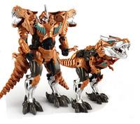 1pcs 22.5cm DINOBOTS Grimlock Robot Model Children Toy Transformation action figures Kids with box