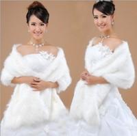 Bridal Wrap Ivory Red Discount Fur Boleros Wedding Bolero Jackets Elegant Wraps Wedding Accessories