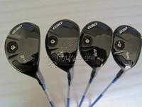 4PCS G30 Rescue Hybrid Golf #2-17 . #3-19 . #4-22 . #5-26 With TFC 419I Graphite R Flex Shaft Golf Clubs