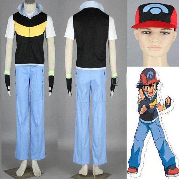 Ash Ketchum Costume Adults Ash Ketchum Adult Costume