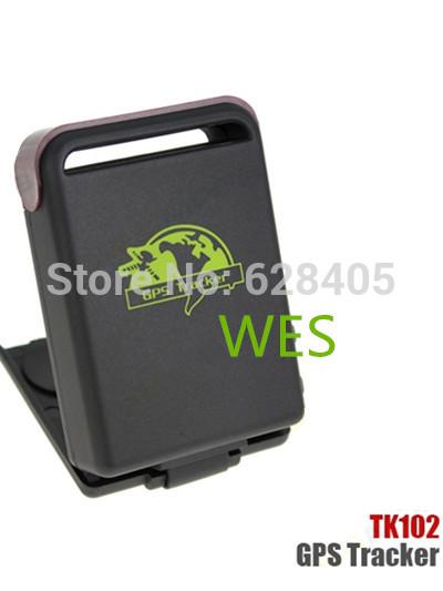 Quadband Real Time GSM GPRS Mini GPS Tracker TK102 Car Vehicle Tracker SOS Alarm System Device TK102B 10 pcs/lot DHL free(China (Mainland))