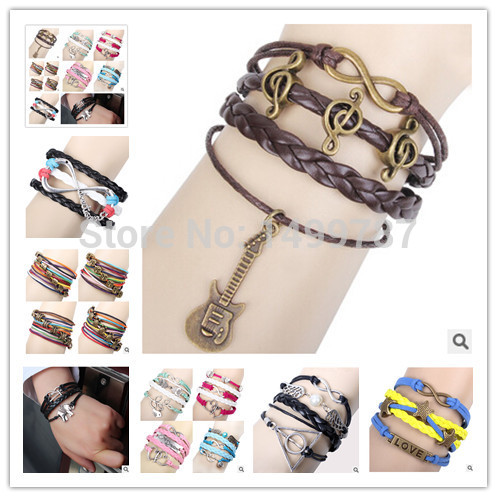 2Pcs Hot Bracelets fit European Pandora Jewelry Braclet Necklace Charms Wholesale Bangle Free Shipping