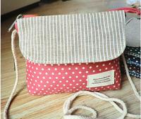 Girls/Children Casual Small Canvas Messenger Sling School Bags Shoulder bag multicolor zipped Pocket Purse