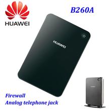 Original Huawei Router wi fi sem fio 3 G HSDPA cartão sim 2.4 Ghz B260A com VoIP LAN WLAN porto