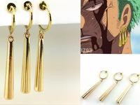 ONE PIECE Roronoa Zoro cosplay most original earrings cuff earring 1 pc packing one piece cosplay CS34