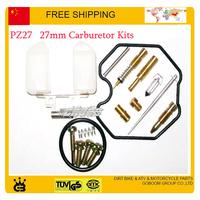 zongshen loncin lifan motorcycle 27mm carburetor kits pz27 accessories parts free shipping