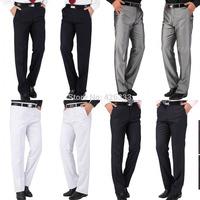 Calca Social Man Pants Men Business Wedding Suit Pants 2015 New Fashion Casual Tuxedo BrideGroom Formal Party Dress Trousers