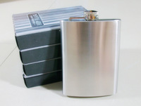 2pc/lot portable hip travel flask stainless steel 5oz mini hip flask free shipping