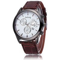 2015 Free shipping!! Hot selling PU leather watchband 5 different Fashionable style for  Men watch quartz Watch