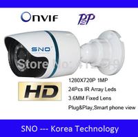 Best Sales!Sno ONVIF 720P IP Camera Outdoor IR Night Vision Network 1.0MP CCTV HD Camera P2P Security&Protection mini ip camera