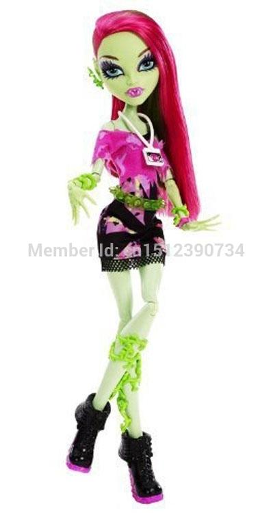Free shipping Original brand School High kids dolls,Y7692 music Festival series,Venus McFlytrap doll, classic toys gift for girl(China (Mainland))