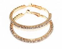 Women Earrings 2015 Austrian Crystal Earrings Silver Plated Drop Earrings Fashion Bijoux OS28