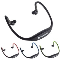 Sport Stereo Wireless Bluetooth handfree earphone Headset Headphone for iPhone 5/4 galaxy S3 S4 S5 for Smartphone Laptop