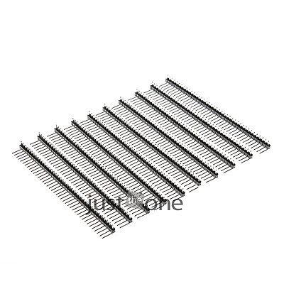 2.54mm 10PCS Single Row Right Angle 40Pin Male Pin Header for Ardunio(China (Mainland))