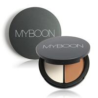 New Makeup Blush Bronzer &Highlighter 2 Diff Color Concealer Bronzer Palette Comestic Make Up