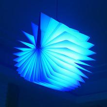 2015 Hot new large origami books lights flip book mini-USB LED night light bedside lamp folding strange lights LED Strip Light(China (Mainland))