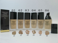 1PCs 2015 new Brand CC Makeup Foundation,long-wear flawless fluid makeup SPF 10, 6 diff colors Available,drop ship free shipping