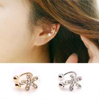 $10 Free Shipping Fashion Jewelry Gentlewomen No Pierced Earrings U Clip Stud Earring Sweet Girls Earrings