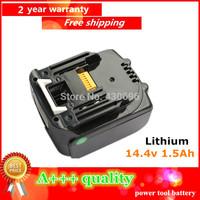 14.4v 1500mah Replacement Power Tools Lithium Battery for MAKITA  BL1430 ,BDF440RFE/BTD130FW/BDF440/BHP440/BTD130/LXT200/BTP130