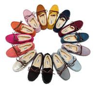 2015 Fashion women's winter Flat shoes Genuine Leather Shoes Fur woman moccasins sapatos femininos Women Flats thickening XZ13
