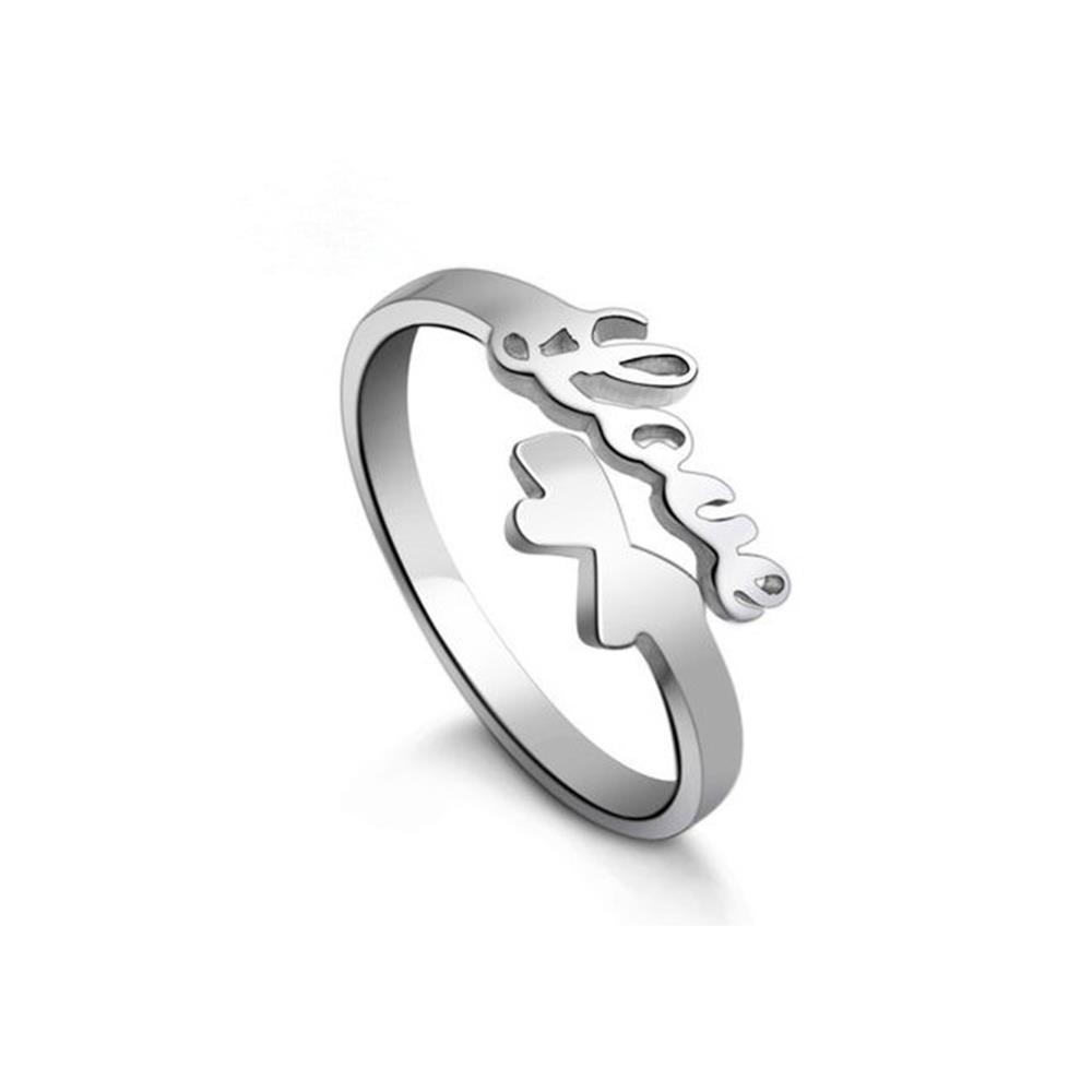 vintage cute love heart rings 925 sterling silver opening rings buterfly rings for wedding rings